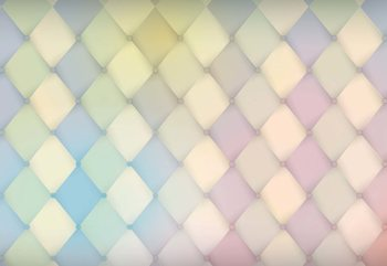 Modern Design Diamonds Wallpaper Mural