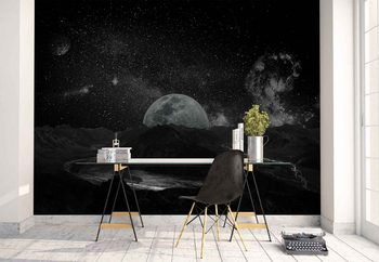 Moonscape Wallpaper Mural