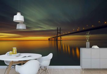Morning Lights Wallpaper Mural
