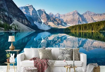 Mountain Mirror Wallpaper Mural