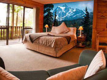 MOUNTAIN MORNING Wallpaper Mural