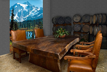 MOUNTAIN PEAK Wallpaper Mural
