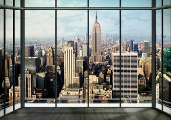 New York - Manhattan Skyline Wallpaper Mural