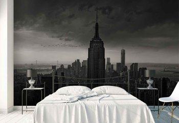 New York Rockefeller View Wallpaper Mural