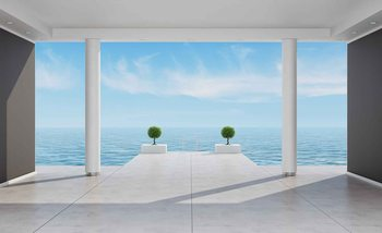 Ocean View Wallpaper Mural
