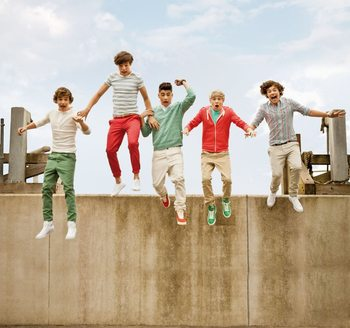 One Direction - Jump Wallpaper Mural