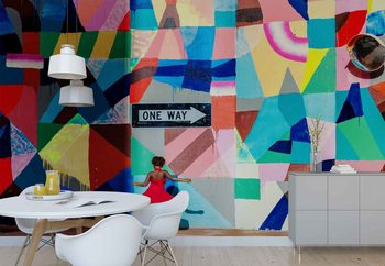 One Way Wallpaper Mural