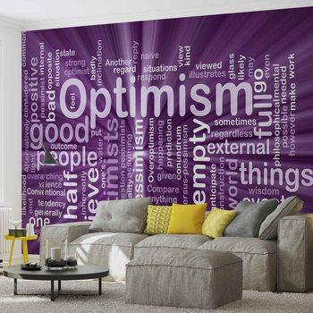 Optimism Abstract Wallpaper Mural