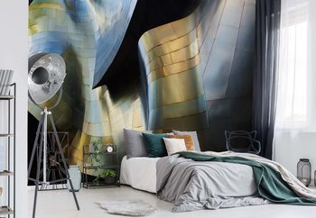 Organic Metal Wallpaper Mural