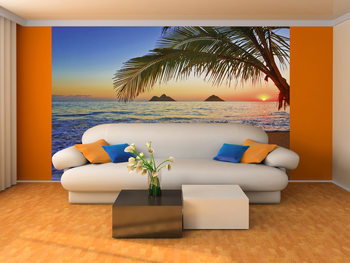 PACIFIC SUNRISE Wallpaper Mural