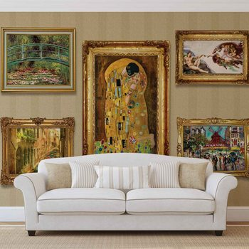 Paintings Art Luxury Wallpaper Mural