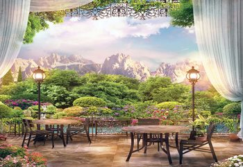 Paradise Nature View Wallpaper Mural