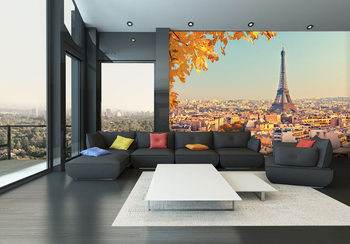 Paris - Eiffel tower Wallpaper Mural