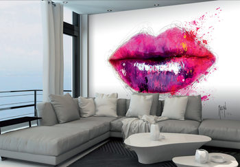 Patrice Murciano - Lips Wallpaper Mural
