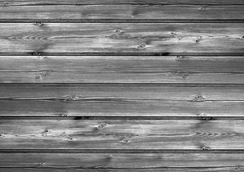 Pattern Grey Wooden Wallpaper Mural