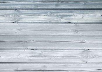 Pattern White Wood Wallpaper Mural