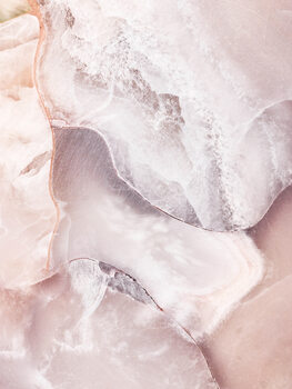 Wallpaper Mural Pink Marble