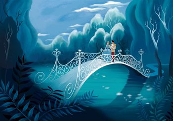 Princesses Cinderella Wallpaper Mural