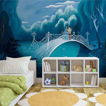 Princesses Cinderella Wallpaper Mural