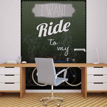 Racing Bicycle Wallpaper Mural