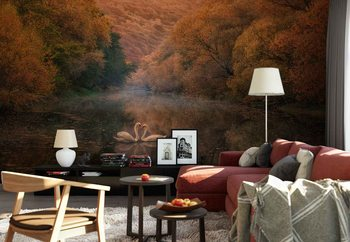 Romantic River Wallpaper Mural