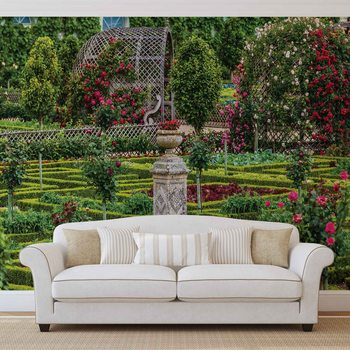 Rose Garden Wallpaper Mural