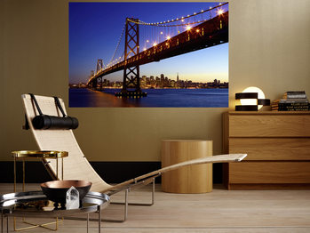 SAN FRANCISCO - skyline Wallpaper Mural