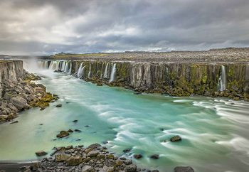 Selfoss Canyon Wallpaper Mural