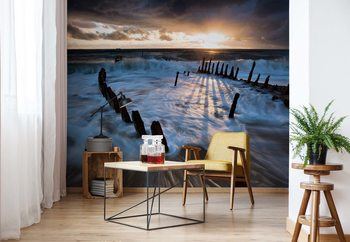 Shipwrecked Wallpaper Mural