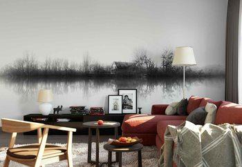 Silence Wallpaper Mural