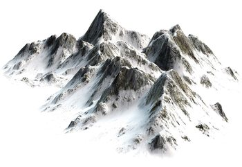 Snowy Mountain Wallpaper Mural