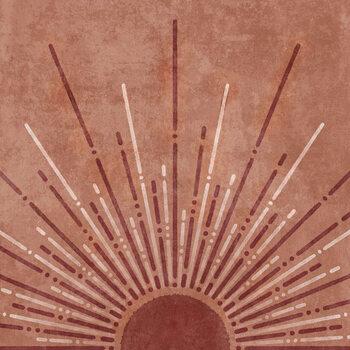 Wallpaper Mural Somon up Sun