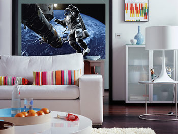 SPACE COWBOY Wallpaper Mural