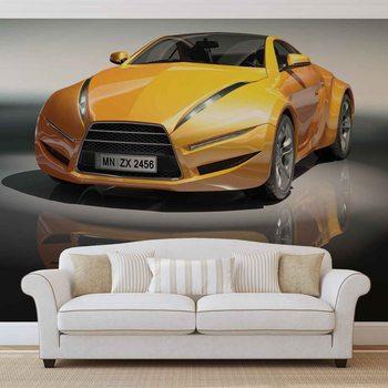 Sports Racing Car Wallpaper Mural