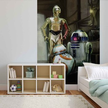 Star Wars Droids Wallpaper Mural