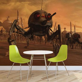 Star Wars DSD1 Dwarf Spider Droid Wallpaper Mural