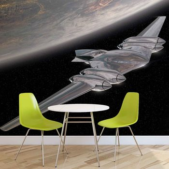 Star Wars J-type Diplomatic Barge Wallpaper Mural