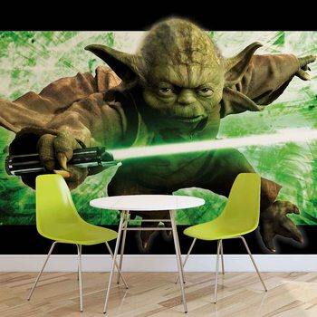 Star Wars Master Yoda Wallpaper Mural