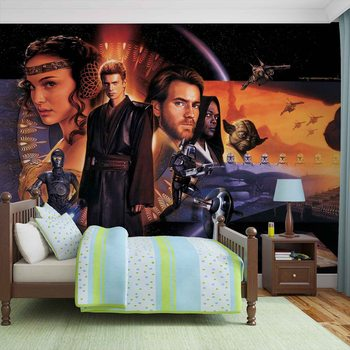 Star Wars Phantom Menace Wallpaper Mural