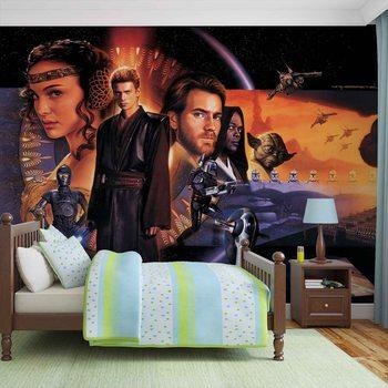 Star Wars Phantom Menace Wallpaper Mural