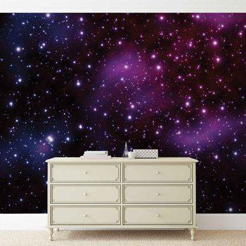 Stars Cosmos Universe 312x219 cm - 130g/m2 Vlies Non-Woven Wallpaper Mural
