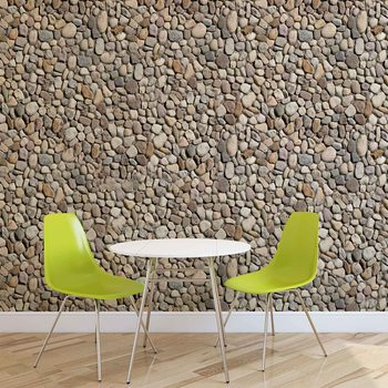 Stone Wall Wallpaper Mural
