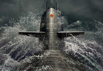 Submarine Wallpaper Mural