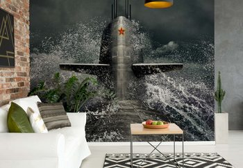 Submarine Wallpaper Mural