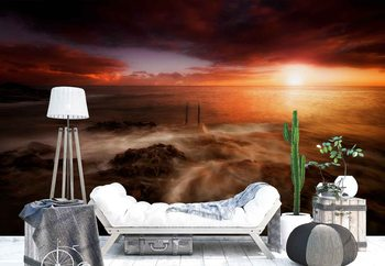 Sunrise In Tenerife Wallpaper Mural