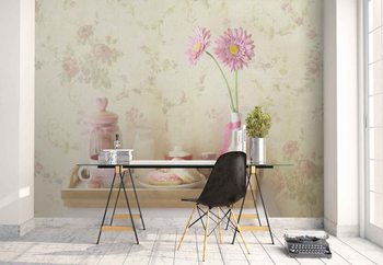 Sweet Vintage Wallpaper Mural