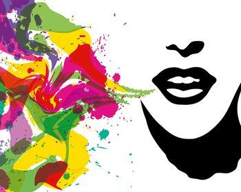 Talking Colours Wallpaper Mural