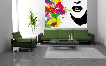 Talking Colours Wallpaper Mural