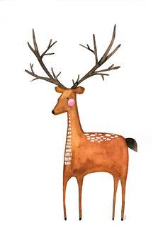 Wallpaper Mural The Deer