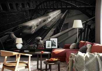 The Fast Line Wallpaper Mural